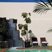 Pool & waterfall - Breathing Space Retreats - breathguru